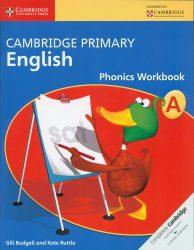 CAMBRIDGE PRIMARY ENGLISH phonic workbook A