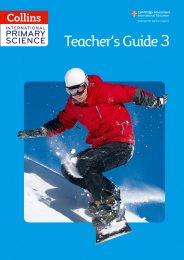 Collins International Primary Science  Teacher's Guide 3 (Copy)