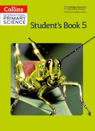 Collins International Primary Science  Student's Book 5